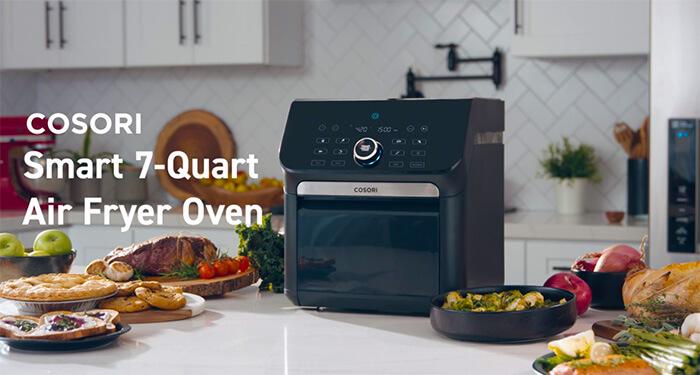 Cosori Smart 7-Quart air fryer oven