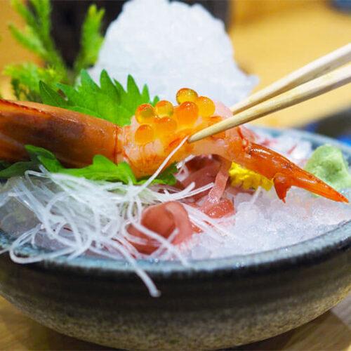 Amaebi Sweet Shrimp Sashimi Recipe