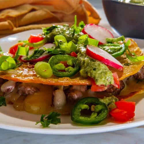 Carne Asada Mulitas (LA Style Mexican Food) Recipe