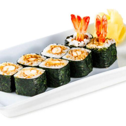 Godzilla Roll Sushi (Shrimp Tempura Roll Recipe)