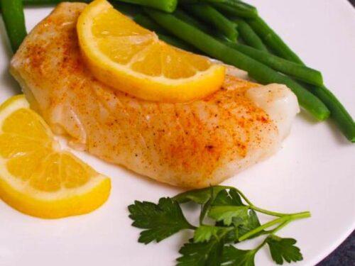 Lemon Garlic Sous Vide Cod Recipe