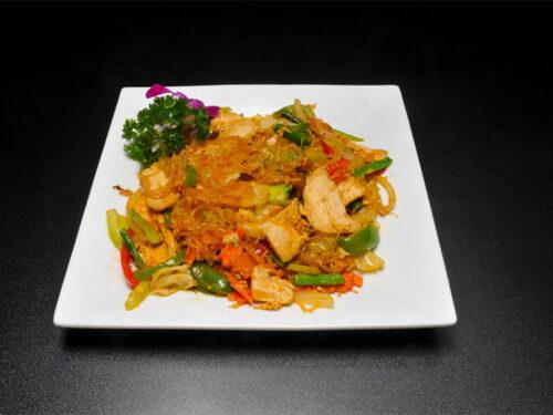 Pad Woon Sen (Thai Glass Noodles Stir Fry Recipe)