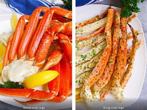 Snow crab vs king crab recipe