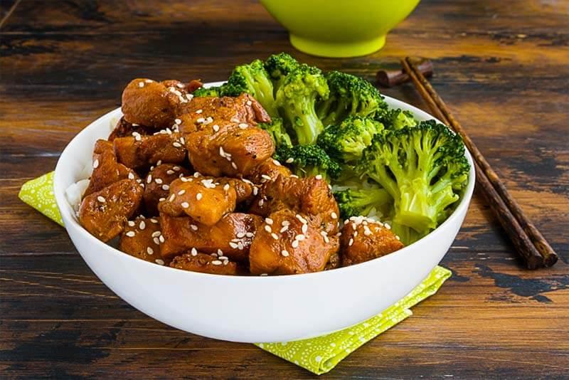 Teriyaki Chicken Bowls Recipe