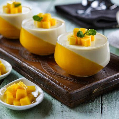 Mango Panna Cotta Recipe